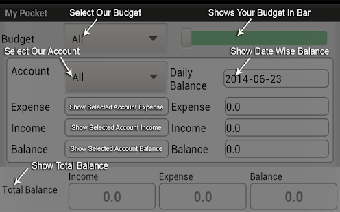 My Pocket-Free-Expense Manager - screenshot thumbnail