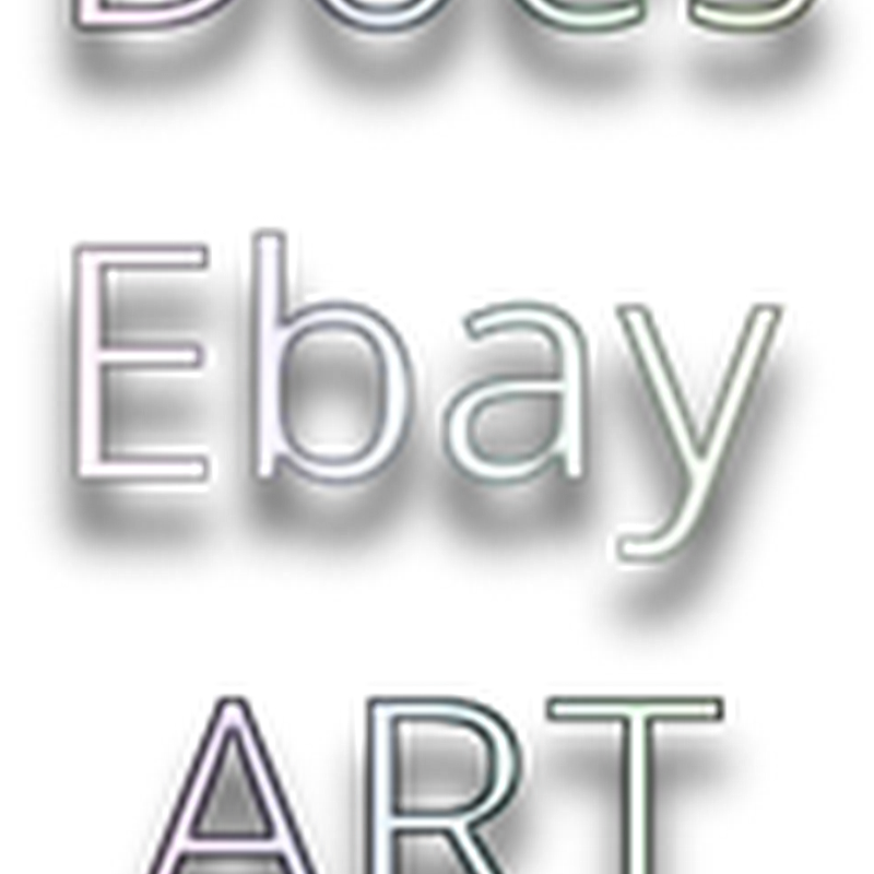 Is Selling Art on Ebay Possible?