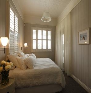 Decoracion habitacion en color blanco