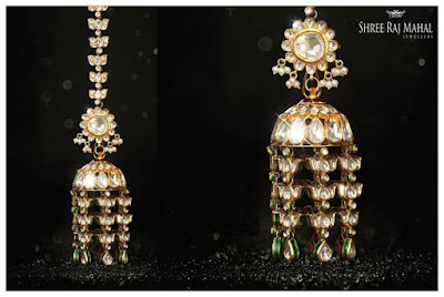 The Royal Jhumkis are perfect for this festive season