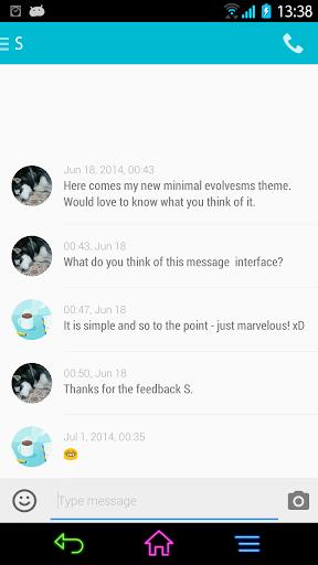 EvolveSMS Theme - L Evolved