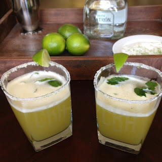 Pineapple Mint Tequila Mojito.