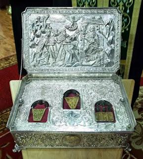 Đan viện Chính thống giáo ở Núi Athos nhận là đang lưu giữ ba bảo vật của các nhà chiêm tinh