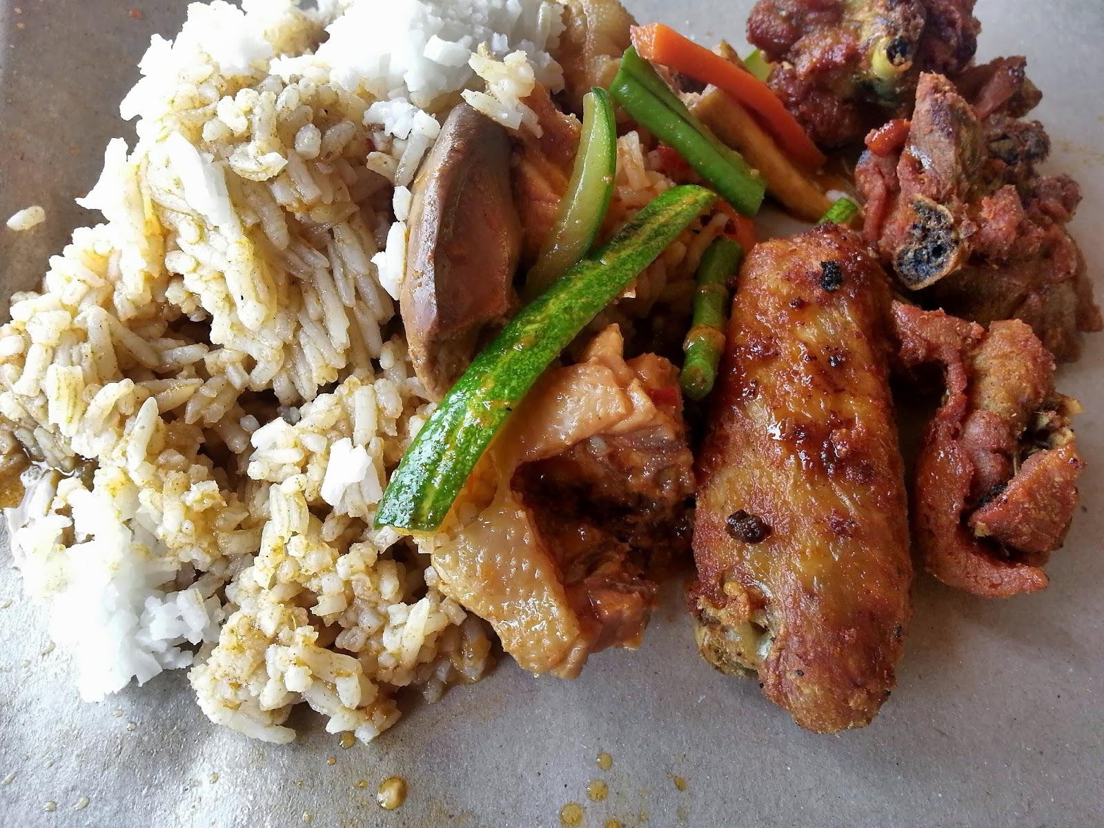 Restoran Menarik di Kelantan : Nasi Kak Wok