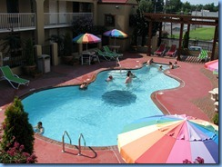 8085 Days Inn Graceland guitar pool - Memphis, Tennessee