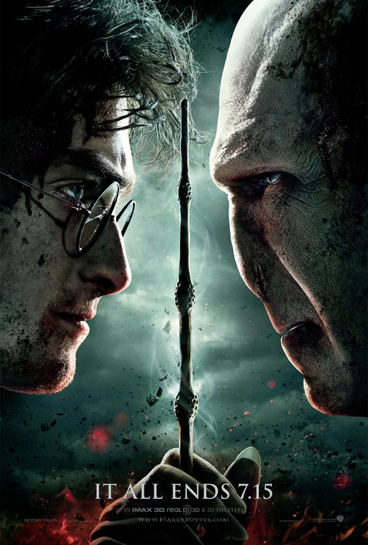 Harry Potter and the Deathly Hallows part 2 one sheet