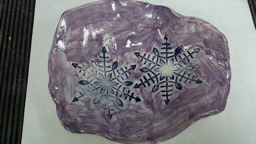 Art Is The Best Part Of The Day Slab Pottery