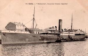 El MEDJERDA en Cette. Postal. Foto del libro DARRERE EL MEDJERDA. Foto Jesus Martinez y Curto.jpg
