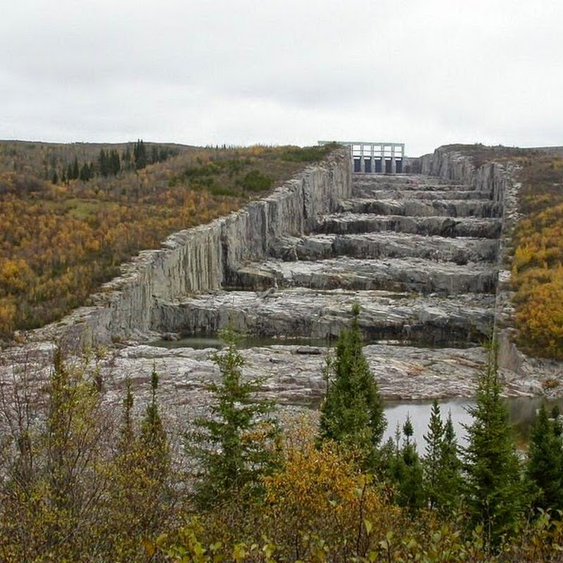 The Colossal Stepped Spillway of Robert-Bourassa Reservoir
