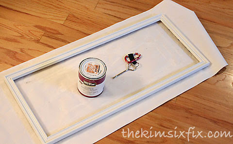 Painting thrift store frame