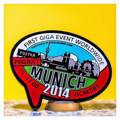 Project MUNICH2014 – Mia san Giga - Eventcoin - Vorderseite