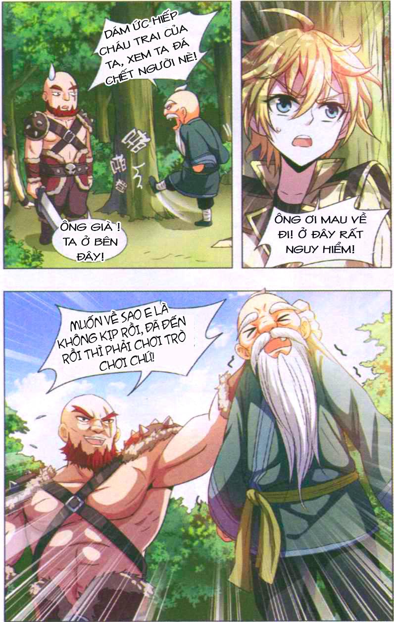 Anh Hùng Phong Sương Chap 001