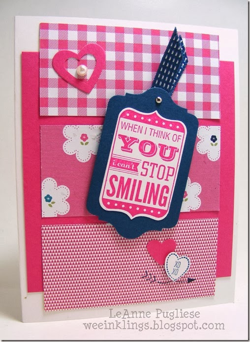 LeAnne Pugliese WeeInklings Love You to the Moon Stampin Up