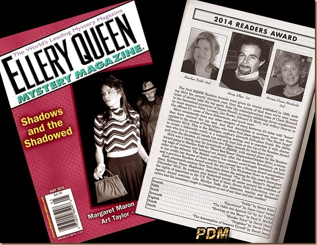 Ellery Queen 2014 Readers Award Poll -- 3-13-15 -- D1