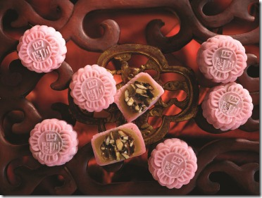 Szechuan Court Mini Snow-Skin Dark Rocher Chocolate Mooncake