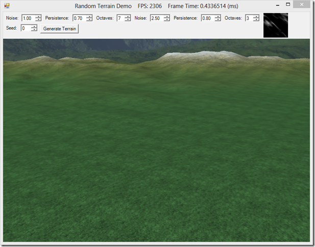 RichardsSoftware net - Generating Random Terrains using Perlin Noise