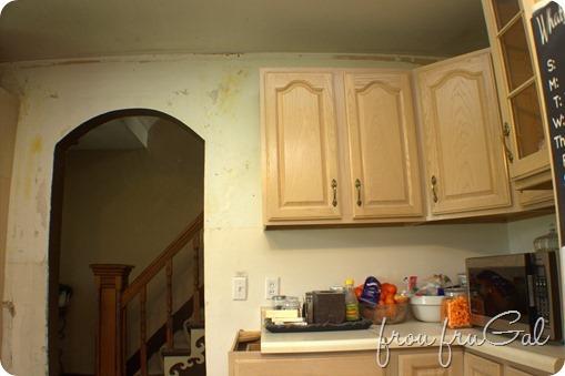 Kitchen - Upper Cupboards Progress