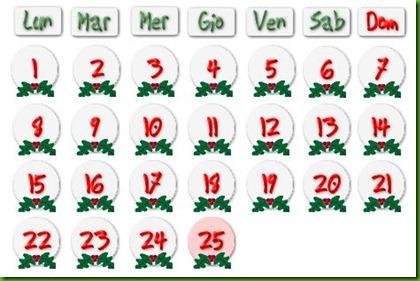 Calendario Dellavvento Da Stampare Per Bambini.Piccoli Grifoni Il Calendario Dell Avvento