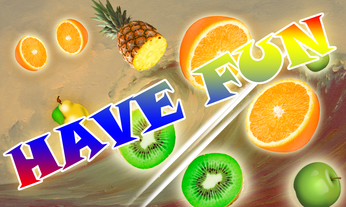 Fruit link deluxe - Fruit Cutter Kung Fu Screenshot