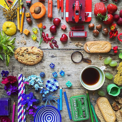 An awesome display of colour by 5ftinf belVitaArt GoodMornings