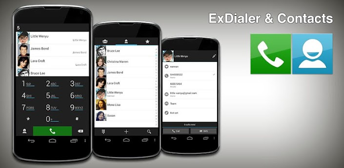 ExDialer & Contacts