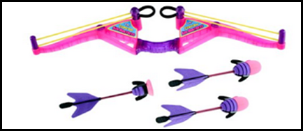 z curve bow for girls
