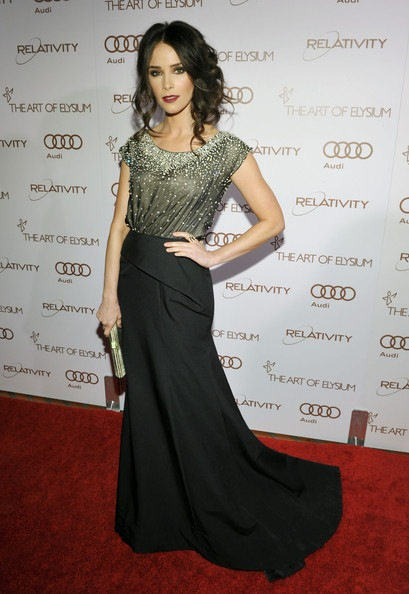 Abigail Spencer arrives at the 2012 Art of Elysium Heaven Gala