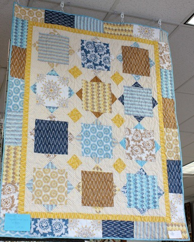 Square Dance quilt made with Indie Chic fabric