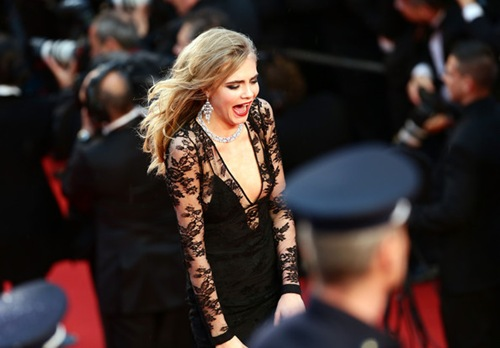Cara Delevingne Opening Ceremony Great Gatsby Premiere