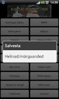 Screenshot of Eesti Ütlused Soundboard