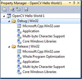 Manindra Moharana: Setting up OpenCV 2 3 1 on Visual Studio 2010