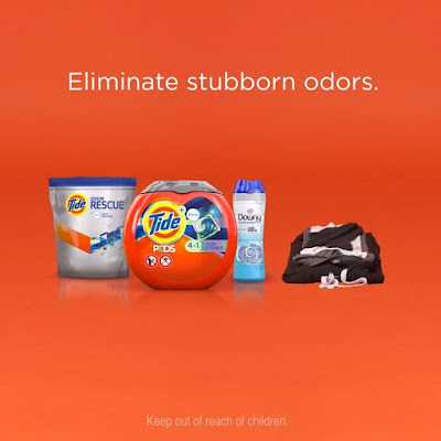 Eliminate stubborn odors with the new Tide and Downy Odor Defense Collection