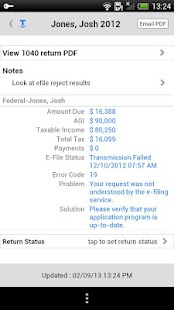 Intuit Tax Online Accountant - screenshot thumbnail
