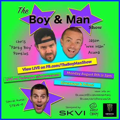 Monday The wild boyz will be back together Tune in We will