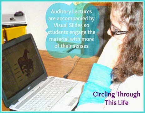 Fascinating Biology engages multiple senses read Tess's review at Circling Through This Life