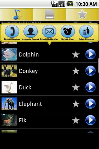 Animals Ringtones - screenshot