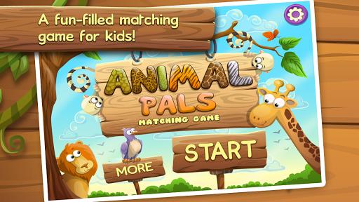 Animal Pals Matching Game