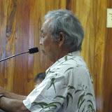 Dennis is first testifier
