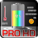 Battery Pro Live Wallpaper. logo