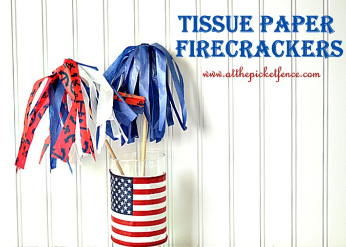 Tissue Paper Firecrackers