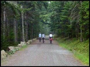 05 - Heading to Post 8 along eagle Lake