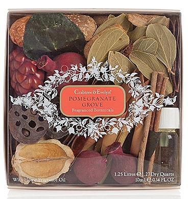 Crabtree & Evelyn Pomegranate Grove Home Fragranced Botanicals