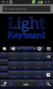 Blue Light Keyboard - screenshot thumbnail