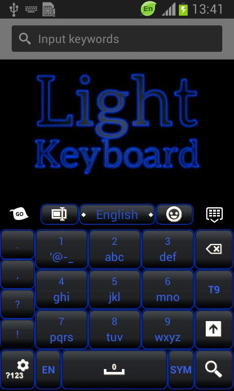 Blue Light Keyboard - screenshot