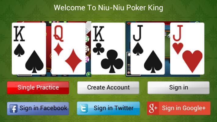 Niu-Niu Poker King - screenshot
