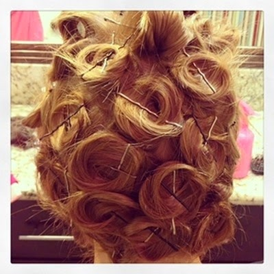 Bobby Pin Hairstyles & Long Lasting Curl Hack