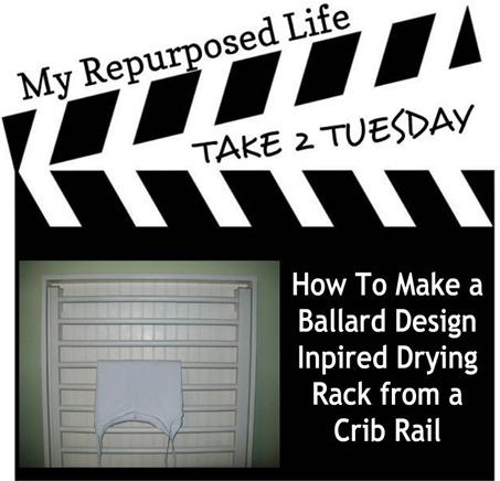 My Repurposed Life-Ballard Design Inspired Drying Rack
