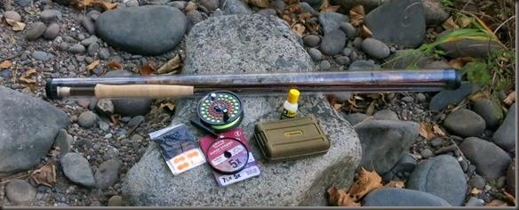 Wood Trekker Ultralight Fly Fishing Kit
