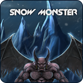 SnowMonster GO Launcher Theme