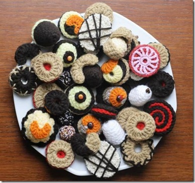 Crochetted Cookies